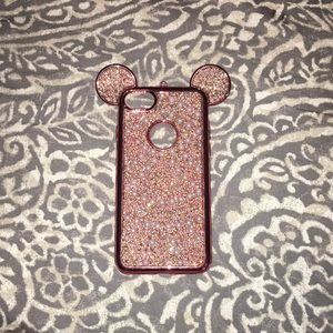 IPhone 6/6s pink Minnie Mouse Case